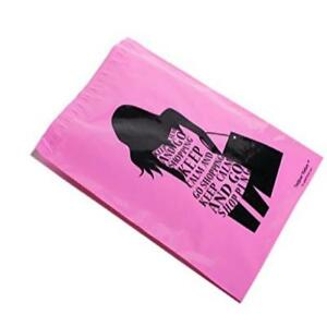 10x13 Pink Go Shopping Poly Mailers Shipping Envelopes Upaknship Brand 100 Hea