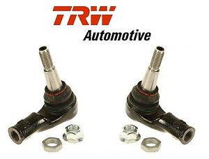 For Land Rover Lr3 09 Lr4 10 16 Set Of 2 Outer Steering Tie Rod Ends Trw Jte1143