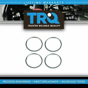 Front Rear Abs Tone Ring Kit Set For 01 08 Ford Escape Mariner Hybrid 4wd 4x4