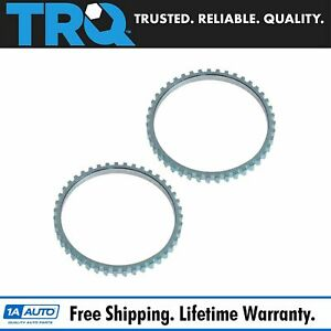 Front Or Rear Abs Tone Ring Pair Set For Ford Escape Mercury Mariner Hybrid