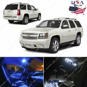 10pcs Light Bulbs Smd Interior Led Lights Package Kit For 2007 2014 Chevy Tahoe