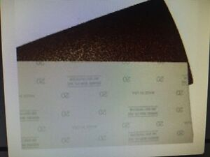Sand Paper Sheets Fit Silverline Sl 8 Hook And Loop Drum 8 x17 5 8 H