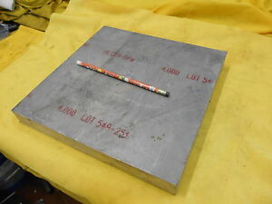 7050 Aluminum Flat Stock Machine Shop Bar Plate 1 1 4 X 11 X 11 Alcoa