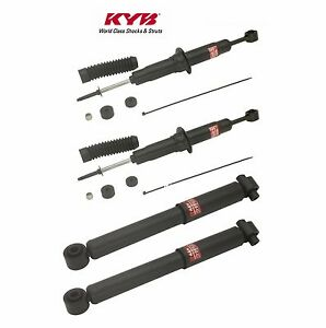 For Toyota Sequoia Sr5 Set Of 4 Front Rear Shock Absorbers Kyb 340050 349135