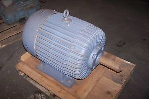 New Delco 50 Hp Ac Electric Motor 460 Vac 365u Frame 1775 Rpm 3 Phase