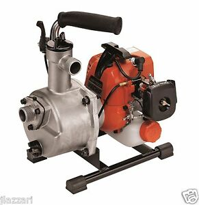 Echo Wp1000 21 2cc 1 Water Pump 28 Gallons Per Minute Includes Intake Hose