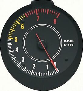 70 74 Challenger Cuda Rallye Tachometer 6500 Red Line Oer New Reproduction