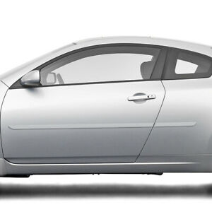For Nissan Altima Coupe 2 Door Painted Body Side Moldings Mouldings 2008 2014