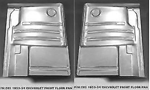 Chevrolet Chevy Car Steel Floor Board Pan Front Set 1953 1954 265l r Ems