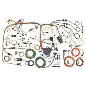 American Autowire 510289 70 74 Challenger Wiring Harness
