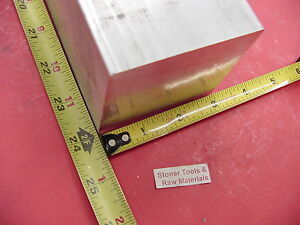 3 X 3 Aluminum 6061 Square Solid Bar 24 Long T6511 Flat Mill Stock