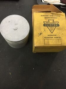 Vintage Clinton Gas Engine Motor Part New Old Stock Piston 16001a 206 9 010 R