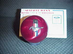 Ford Mustang 289 Logo Licenced Shift Knob red Pearl