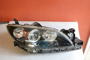 2004 2005 2006 2007 2008 2009 Mazda 3 Sedan Right Headlight