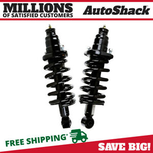 Rear Complete Strut Coil Spring Assembly Pair 2 For 2003 2011 Honda Element