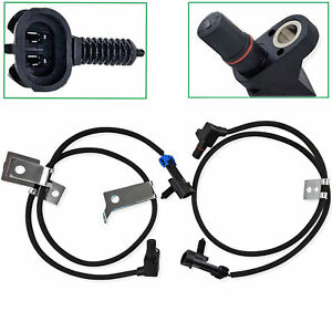 Front Left Right Abs Wheel Speed Sensor For Chevrolet Silverado 1500 2500 Hd