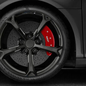 Set Of 4 Front And Rear Red Mgp Caliper Covers For 2014 2019 Mercedes Cla250