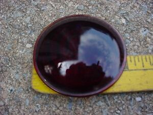 30s 40s 50s 60s Maybe Glass Red Clearance Stop Tail Marker Lamp Lens Scco