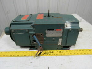 Reliance Electric 1l284814t1 2hp 120vdc 1750rpm 1810at Frame Electric Motor