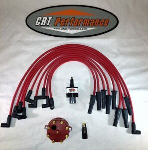 New Dodge Ram Dakota Durango 5 2 5 9 V8 Magnum 45k Volt Tune Up Kit Red