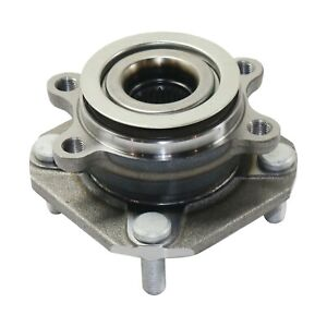 Front Wheel Hub And Bearing Assembly Fits 2007 12 Nissan Sentra With 4 wheel Abs