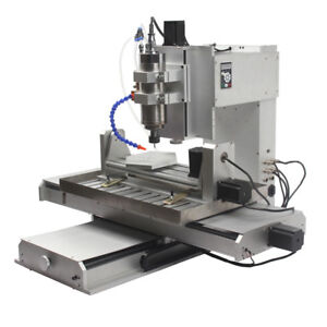 Hy 6040 diy 5 Axis 2200w Desktop Pcb Cnc Router Drilling Machine Factory Direct