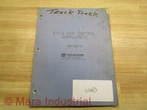 Taylor dunn M3 002 11 Manual For Ev 1 Scr