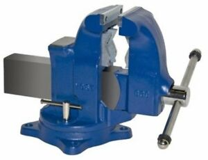 New Yost 33c Heavy duty Industrial Combination Bench Vise Swivel Base 5 Jaw Nib