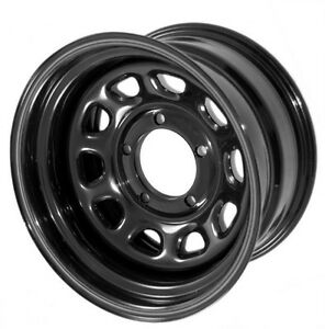 For Jeep Cherokee Xj 84 01 15 X 8 Black Steel Wheel 5 X 4 5 X 15500 01