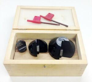 3 Piece 82 Degree Indexable Countersink Chamfer Tool Set 2001 0011
