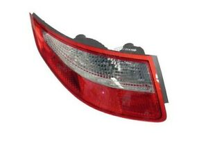 New Porsche Driver Left Taillight Assembly Lens Clear Red Genuine 99763148504