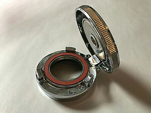 Ford Model A Motometer Locking Hinged Chrome Radiator Cap 1928 1929