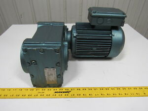 Sew eurodrive Fa67dt100ls4 Parallel Shaft Helical Gearmotor 60 74 1 Ratio