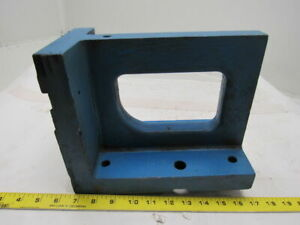 11x8 x5 1 2 Cast Iron 90 Angle Plate block Machinist Set Up Fixture
