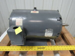 Baldor 20hp Electric Motor 3ph 230 460v 3525rpm 265t Frame