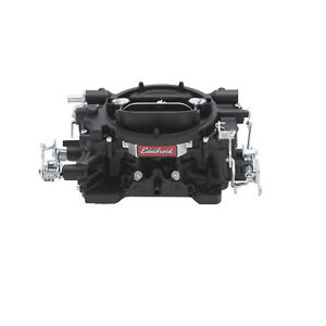 Edelbrock 14053 600cfm Carb W manual Choke Black