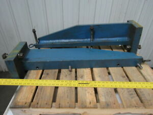 36 x3 Welded Steel Giant Right Angle Plate Work Holding Fixture Set Of 2