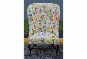 1960 S Whimsical Wingback Chair