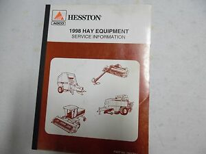 Hesston 1998 Hay Equipment Service Manual