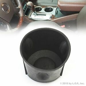 Fits Chevrolet Traverse 09 16 Black Rubber Cup Holder Insert New