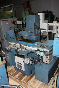 Jones Shipman 1430 Hydraulic Surface Grinder 12 X 24 Fine Line Chuck
