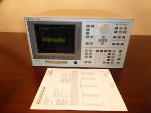 Agilent Hp 4155a High Accuracy Semiconductor Parameter Analyzer Calibrated