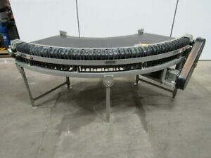 Ethos 45 Deg Flat Top Conveyor 11 Wide Rubber Belt 230 400v 50 Hz 135fpm