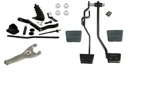 1968 1969 Or 1970 Chevelle El Camino Master Clutch Linkage Kit With Pedals