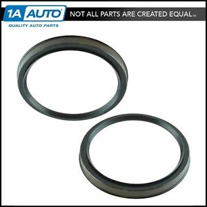 Front Inner Or Outer Lh Driver Rh Passenger Side Wheel Seal Pair For Toyota