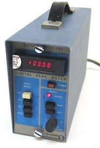 Kistler Model 538d Digital Peak Meter