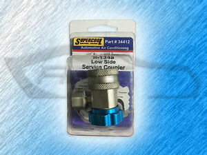 34412 Supercool Low Side R134a Snap On Quick Service Coupler Blue