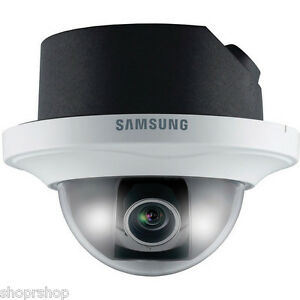 Samsung Snd 3080f Vga Dome Camera Day Night Wdr Sd sdhc Memory Card Slots