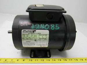 Reliance Electric P56x1424r 1 2hp 1725rpm 3ph 115 230v Electric Motor