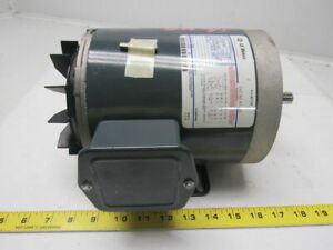 Ge Fanuc 5k49mn6021 1 2hp 1140rpm 208 230 460v 3ph Electric Motor